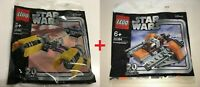 LEGO® Star Wars POLYBAG DOPPELPACK 30461 + 30384 - 20 Jahre Jubiläumsedition NEU