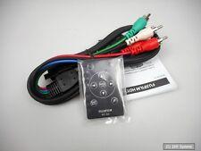 Fujifilm hd-s2 HD de video componente cable y mando a distancia para finepix s2000hd