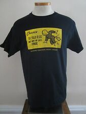 WYOMING TERRITORIAL PRISON ~ LARAMIE  T- SHIRT  GET OUT OF JAIL FREE CARD Medium