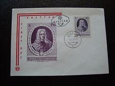 AUTRICHE - enveloppe 1er jour 18/10/1963 (B7) austria