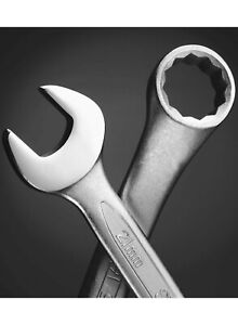 Stanley Open End Spanner sizes 6 to 19mm and Combi spanners sizes from 7 to 19mm