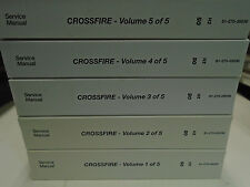 2005 CHRYSLER CROSSFIRE CROSS FIRE Service Shop Repair Manual Set BRAND NEW