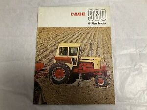 Case 930 Comfort King Tractor Brochure Rare