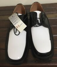 Dress Shoes Size 8.5 Johnston & Murphy Aristocrat Tuxedo Leather New With Tags