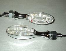 4XNEW HARLEY V-ROD,Baja MSR,Jersey,VRSCA,XL-Modelle MINI CHROM CLIGNOTANT LED