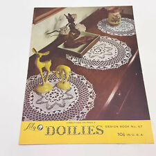 Lily Doilies Design Book No. 67 Crochet Patterns Booklet 1952