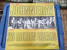 "JOHNNY RAY ""20 GOLDEN GREATS"" - VINYL ALBUM (CBS/WARWICK 1979)"