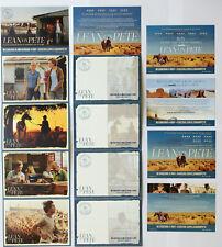 9 X LEAN ON PETE  FILM POSTCARDS CHARLIE PLUMMER CHLOE SEVIGNY