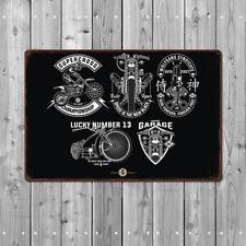 Metal Tin Sign motorcycle garage Decor Bar Pub Home Vintage Retro Poster