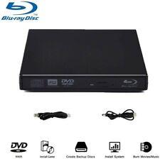 Blu-Ray Player, External USB DVD Drive Slim Portable DVD CD RAM Burner USB2.0
