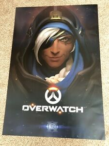 "Ana Overwatch Poster - Blizzcon 2016 - 27"" x 40"""