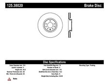 High Carbon Alloy Brake Disc-Preferred fits 2006-2008 Saab 9-3  CENTRIC PARTS