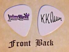 Judas Priest - Kk Downing signature logo guitar pick (w)