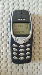 Original Nokia 3310 - 2G GSM Cellular Phone