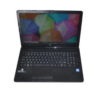 "HP 15-da0XXX 15.6""  Laptop Intel Celeron N4000 CPU 4G RAM 500G HDD Win 10 Home"