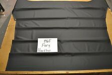 1965 65 MOPAR PLYMOUTH FURY 2 DOOR 5 BOW HARDTOP BLACK HEADLINER USA MADE