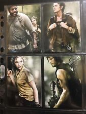 The Walking Dead Season 4 Part 1 Complete 4 Card Chase Set Posters Beth Greene