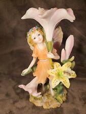 "Fairyland Summer Fairy Statue Figurine 8.5"" Tall"