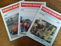 IH Harvester Highlights, 2000 Quarterly IH Collectors Magazine; Lot of 3