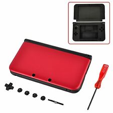Nintendo 3DS XL FULL Replacement Shell Housing Case Red MINT BRAND NEW USA!