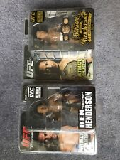 2 Benson Henderson UFC Round 5 action figure Lot