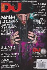 DJ MUSIC MAGAZINE APRIL 2013, (ONLY MAGAZINE CD MISSING)