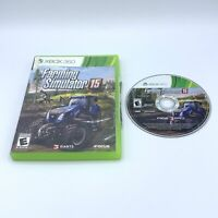 Farming Simulator 15 (Microsoft Xbox 360, 2015) No Manual