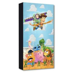 "Disney Fine Art Tim Rogerson ""The Original Toys"" Limited Edition Canvas Artwork"