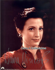 "NANA VISITOR signed photo - ""Major Kira"" in STAR TREK: DEEP SPACE NINE - D6433"