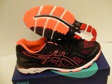 Asics men's shoes gel kayano 23 black hot orange vermillion size 10.5 us