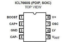 5 x ICL7660SCPA ICL7660 amplificatore operazionale integrato integrated circuit