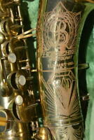 BUESCHER BIG B 1949 PROFESSIONAL ALTO SAXOPHONE,VINTAGE SAX/SASSOFONO