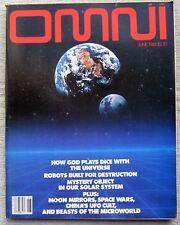 OMNI MAGAZINE June 1983 - Robot's Built for Destruction by Larry Niven