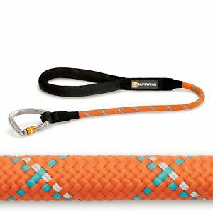 Ruffwear Knot-A-Long Dog Leash Pumpkin Orange