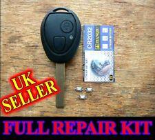 for BMW Mini Rover 75 Remote Key Fob Case FULL REPAIR KIT