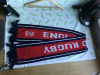 official England Rugby Scarf - Winter