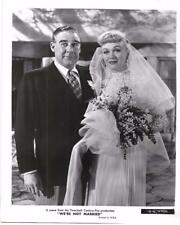 "Eve Arden, Paul Douglas ""We're Not Married"" 1952 Vintage Movie Still"