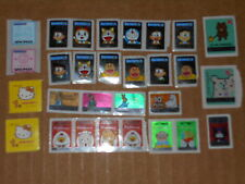 收藏品: Mini Cartoon Stickers Lots: Doraemon/Minion/Kitty (Assorted)