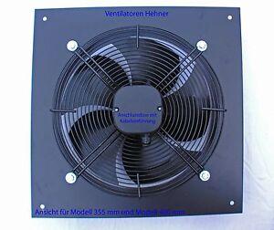 Axial Ventilator / Wandventilator / Lüfter 2500 m³/h