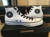 Converse Chuck Taylor All Star CT HI Men's Shoes White Black Reflective 148851F
