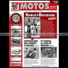 MOTOS D'HIER N°114 ★ HARLEY-DAVIDSON 750 WLC ★ RETROCYCLETTE ST SALVADOU 2007
