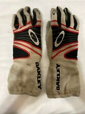 Oakley Racing Fire Retardant Safely Gloves  Race Used Size Medium