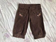 GYMBOREE Mädchen Shorts Chino Hose Cord Gr.122 6 years girls normal waist