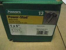 """POWERS 07461 1"""" X 6 POWER STUD WEDGE ANCHOR (AA6182-10)"""