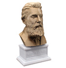 Herman Melville 3D Printed Bust Famous American Writer Art FREE SHIP