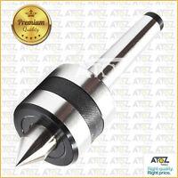 """50mm-127mm 5MT MT5 Revolving Live Center Bull Nose Capacity 2/"""" 5/"""" Pipe Tube"""