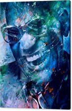 Motiv Ray Charles Pop Art/Malerei/Leinwand/Kunstdruck/XXL/Poster/Blues/Jazz