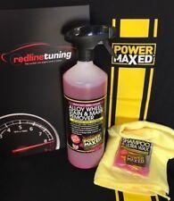 Power Maxed Alloy Wheel Stain/Mark Remover 1 litre+Free Micro fibre,Shampoo Wax