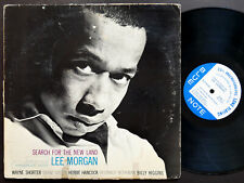LEE MORGAN Search For The New Land LP BLUE NOTE 4169 NY EAR MONO Herbie Hancock