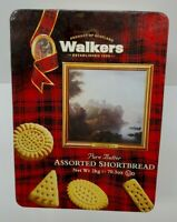 Large Empty Tin WALKERS SCOTLAND Shortbread Cookies Please Read